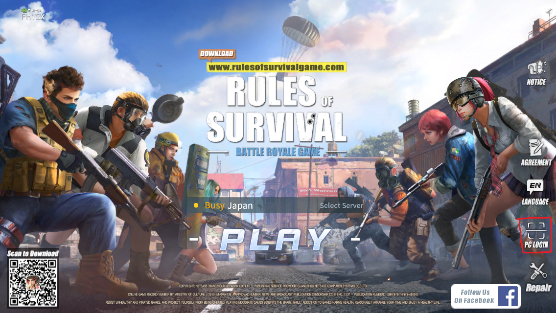 「Rules of Survival」のグローバル配信がスタート …