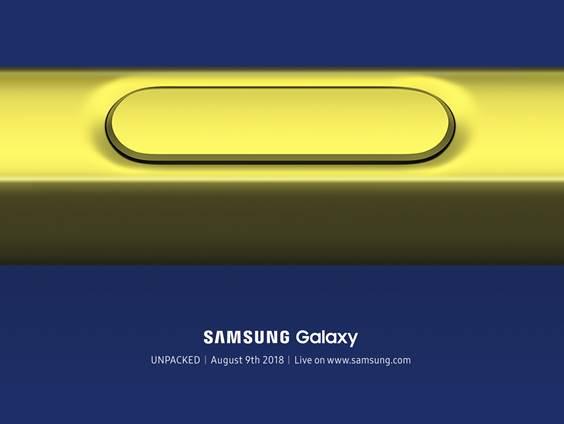 galaxy note9 発売日