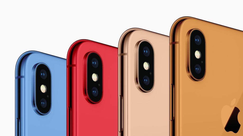 2018年の6.1インチiPhoneのカラーバリエーション